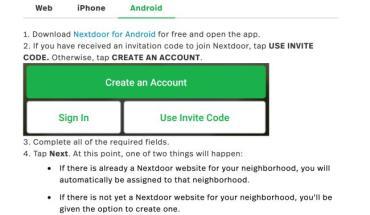 Www.nextdoor.com/join Invite Code – Enter Code to Join Now